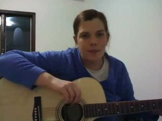 Month One Amy plays guitar - Counting by 12s