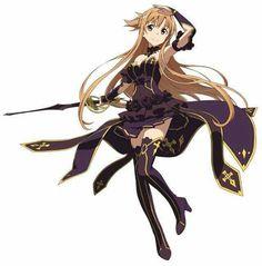 Sword art online Asuna wearing Black and Gold is amazing Otaku Anime, Manga Anime, Sao Anime, Arte Online, Online Art, Female Characters, Anime Characters, Manga Combat, Character Art