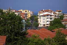 Sozopol Street View I (At the Seaside Resort in Bulgaria)