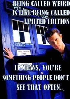 matt smith defines limited edition