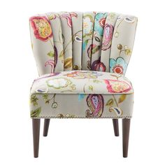 Accent your parlor ensemble with this chair, or use it to keep folded towels and linens on-hand in the guest suite.