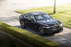 Rolls-Royce new 2017 collaboration with some of the most famous British musicians - the Bespoke Wraith Model