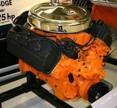 "Mopar Hemi-Head ""RB"" - '426' - 2x4 Carburetor ""Inline"" Intake."