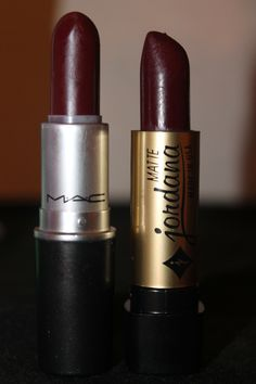 Hey guys, I was able to find you these dupes . MAC [Diva|] $15 JORDANA [Eggplant #20] $ 1.49