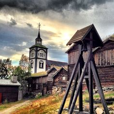Instagram photo by @lenaheimsnes via ink361.com #ziir #røros #norway