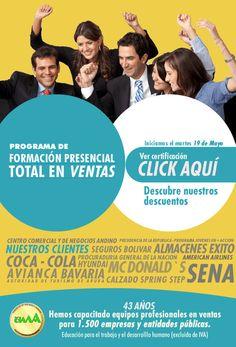 #NOVCLICK esta con #CIMA y su programa de formación total en #ventas