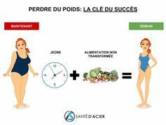 La clé du succès pour perdre du poids avec le jeûne - Santé d'Acier-2 Motivation, Diet And Nutrition, Cellulite, Physique, Detox, Solution, Yoga, Positivity, Education