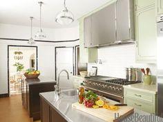 Mint Green Kitchen