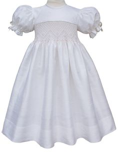 Silk Yoke Dress. There is a bow that ties at the by CarouselWear, $112.97