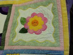 Stitchers  Garden block 3