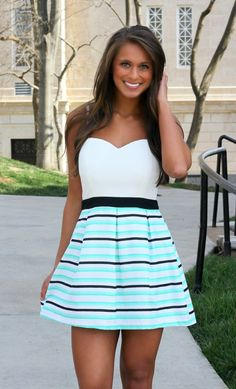 The Pink Lily Boutique - More Than A Feeling Dress, $39.00 (http://thepinklilyboutique.com/more-than-a-feeling-dress/)