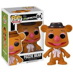 Pop Vinyl Figure: Fozzie.  Ugh, I need a different hobby. I want like all of these.