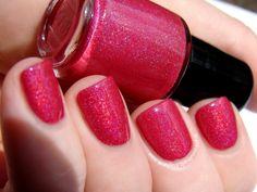 Fuchsia-ristic - holographic nail polish $8.00 (spellboundnails.etsy.com)