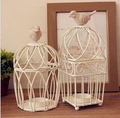 Держатели птичья клетка свечи домашнего декора подсвечники свадьба канделябры полый резные дизайн в средиземноморском стилекупить в магазине 88shopнаAliExpress