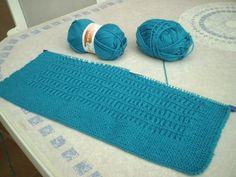 Patrón para realizar mantita para el ajuar del bebé Knitting Stitches, Baby Knitting, Knitting Patterns, Lisa, Crochet Projects, Knit Crochet, Textiles, Creative, Home Decor