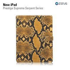 iPad Leather Case Prestige Genuine Leather Supreme Serpent Series