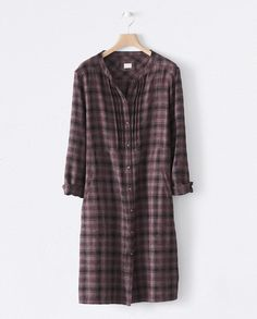 Checked wool dress - Poetry
