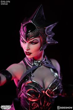 The Evil-Lyn Statue is now available at Sideshow.com for fans of Masters of the Universe, Skeletor and He-Man.