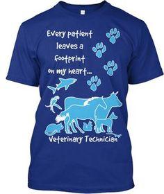 Veterinary Technician T-shirt from TeeSpring