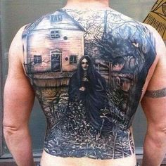 Crazy tattoo!