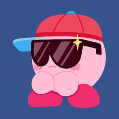 Check out this awesome 'Cool-Cat+Kirby' design on Kirby Character, Otaku, Wallpaper S, Cool Cats, Cute Art, Cool Stuff, Memes, Drawings, Nintendo