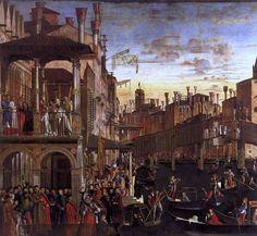 Vittore Carpaccio | Miracle of the True Cross | 1494
