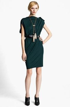 This Lanvin Dress  & Accessories is pure perfection. love those Booties!