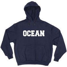 ocean navy blue color Hoodies