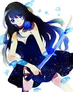 anime girl // Jade Yamashi Anflin // Estrela Guardiã o Coiote - Sagitário