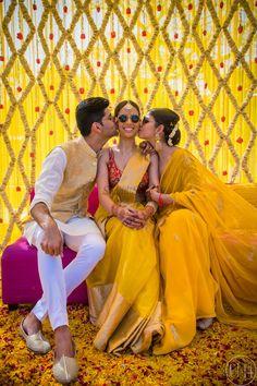 wedding photoshoot Sophisticated & Elegant Delhi Wedding With A Bride In Plum! Desi Wedding Decor, Indian Wedding Decorations, Wedding Stage, Wedding Mandap, Stage Decorations, Tree Wedding, Wedding Receptions, Bridal Poses, Bridal Photoshoot