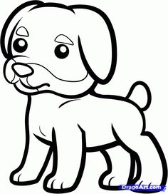 Rottweiler Puppy favorite Dog Colouring pages Pinterest
