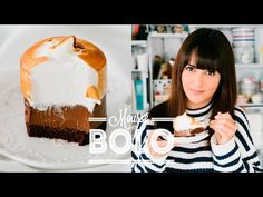 BOLO MOUSSE DE CHOCOLATE COM MARSHMALLOW BRÛLÉE | DANI NOCE - YouTube