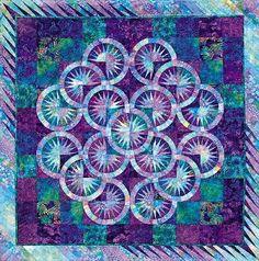 Judy Niemeyer Quilt Patterns - The Crown of Thorns Quilt Pattern