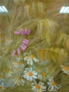 Fantastic Ribbon Embroidery Techniques with picture tutorials by Angela Yuklyanchuk. Awesome site.