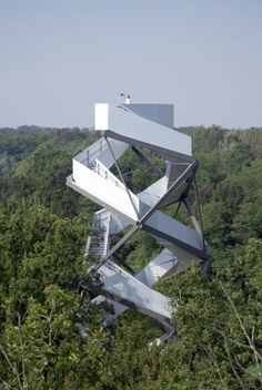 Observation Tower In Austria
