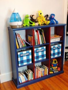Build a Great Bookcases with These Free Plans: Cubby Bookshelf Plan from Ana White