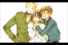 The Axis Trio - hetalia Fan Art