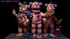 Jorjimodels FuntimeFreddy\'s Pack Poster by TheDerpyFrisk.dev... on @DeviantArt