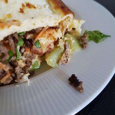 Inspiration til sunde opskrifter - 45 lækre og sunde opskrifter. Big Mac, Nom Nom, Recipies, Food And Drink, Healthy Recipes, Healthy Food, Mexican, Burger, Cooking