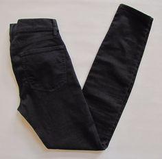 """Gap 1969 Legging Jean 27 4 Black Midrise Stretch skinny Jegging Denim Jeans 31""""  #GAP #LeggingsSlimSkinny"""