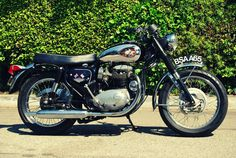 1969 BSA A65 Lightning... My Dad used to put me on his when I was so little I had to sit in front of him
