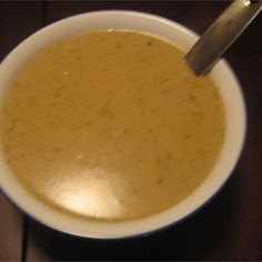 "Easy Turkey Gravy - ""This gravy comes out perfect every time. The cream of chicken soup is what gives it wonderful flavor. Nice and creamy, never lumpy."" Allrecipes.com"