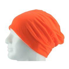 Long Beanie XXL Mütze Slouch Damen Herren Kinder Mütze - neon orange in Bekleidung Accessoire  • Mützen Beanie