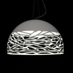 Studio+Italia+Design+Kelly+pendel+-+Ø80+Hvid+-+