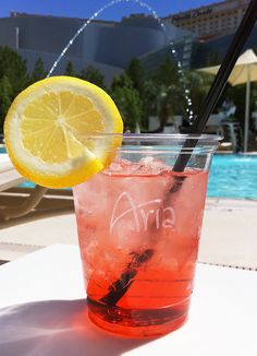 Aria Pool Drink - Las Vegas