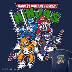 Mighty Mutant Power Ninjas