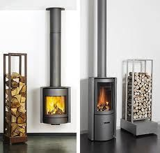 free standing log burners - Google Search