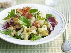 Salade met geroosterde bloemkool en pancetta (Libelle Lekker!)