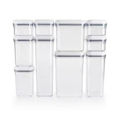 Efficiently organize your countertop and pantry by selecting this OXO Good Grips POP Container Set. Perfect for indoor use.