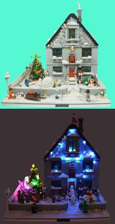Merry Christmas! Completely out of LEGO